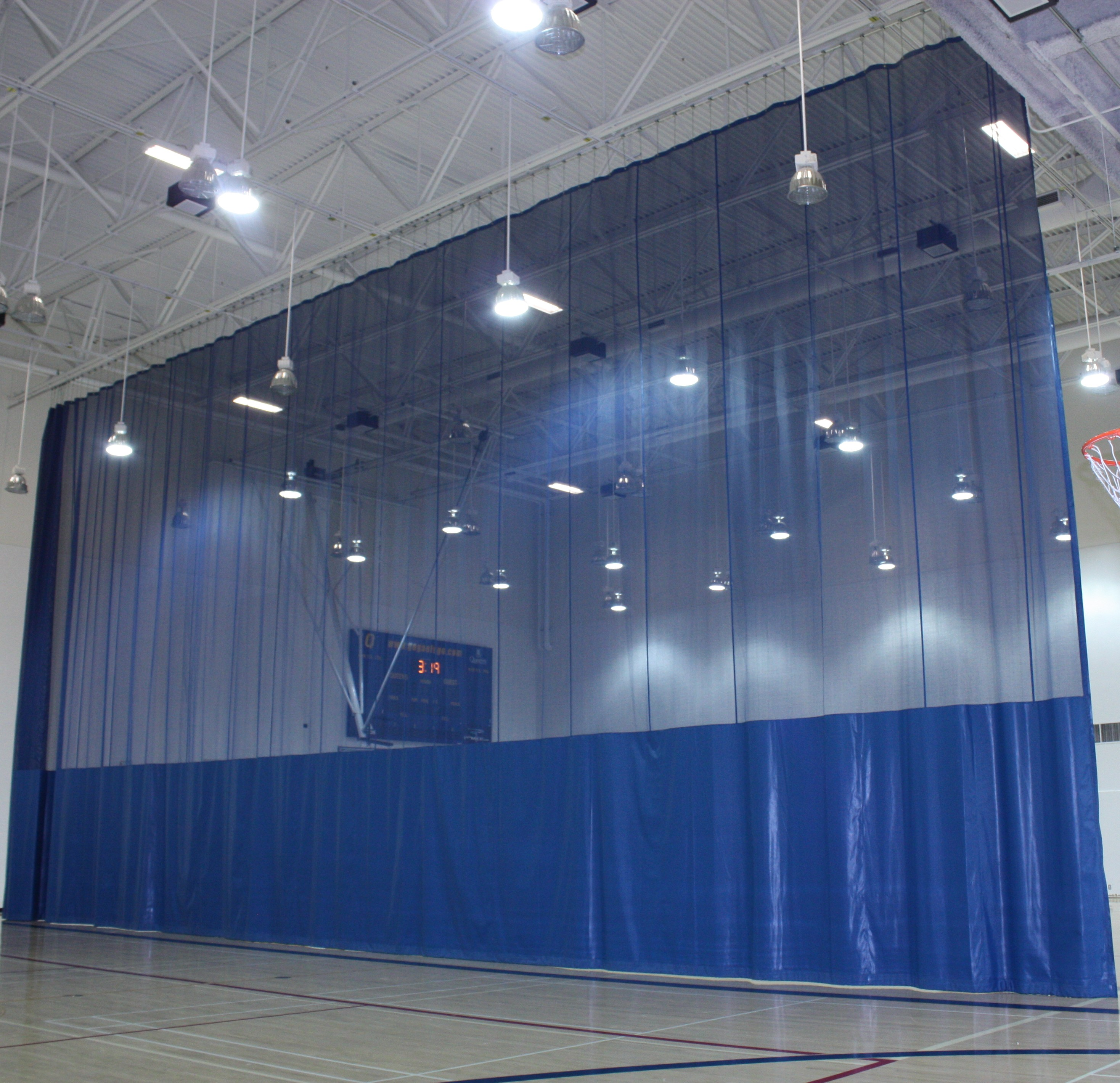 Walk Draw Divider Curtains Forum Athletic