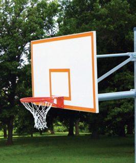 Straight Basketball Post