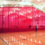 Gym Divider Curtains | Forum Athletic | 3