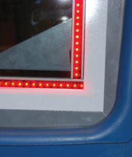 Backboard Perimeter Light Kit