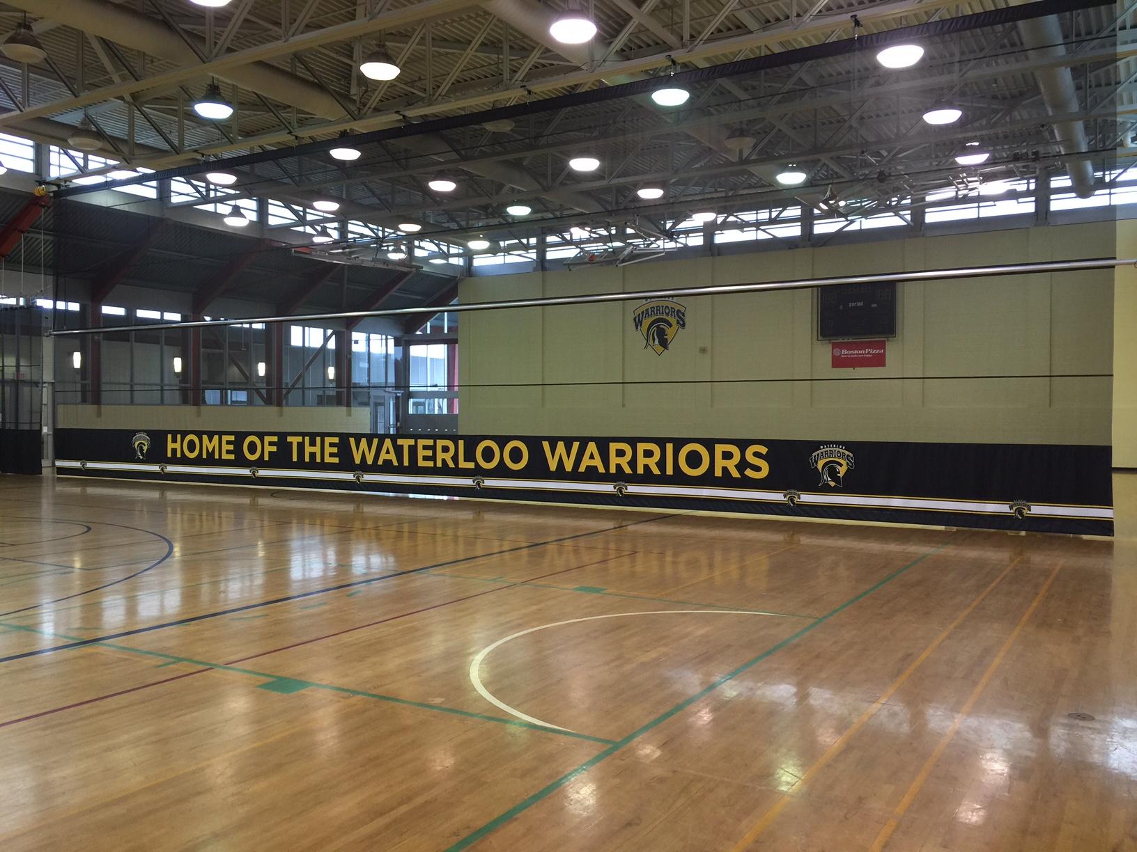 University of Waterloo – Columbia Ice Field Gymnasium Divider