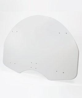 Wood Fan Shaped Backboard (Rear Mount)