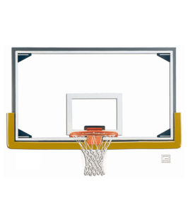 Glass Rectangular Shaped Backboard (Regulation)