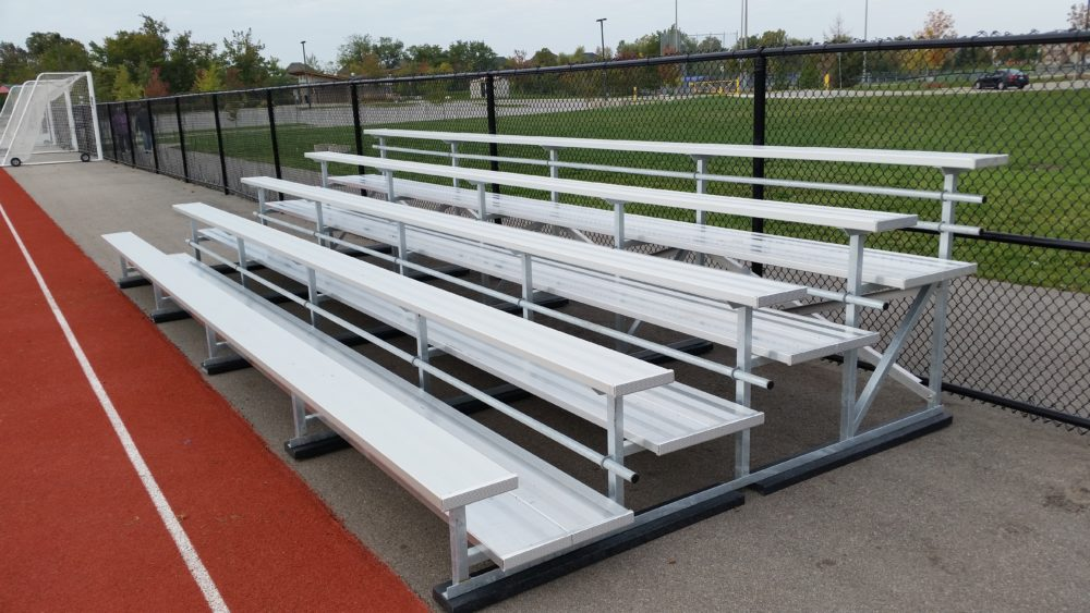 Outdoor Bleachers – Spring is finally here!
