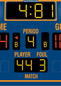 Daktronics BB-2103 Basketball Scoreboard