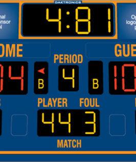 BB-2103 Basketball Scoreboard
