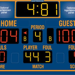 Basketball Scoreboards & Shot Clocks
