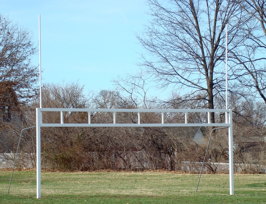 Combination Soccer & Football Goal