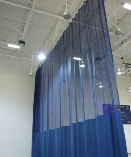 Walk-Draw Divider Curtains