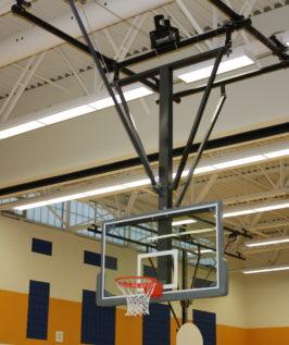 Forward Folding – Rear Braced Ceiling Mount