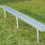 Fixed bench by Forum Athletic Products Inc.