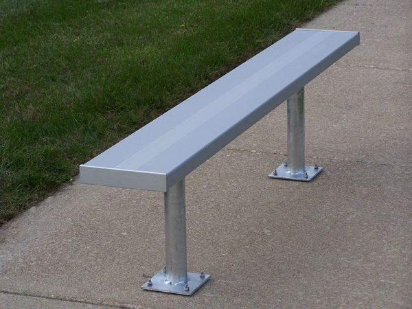 Surface mount bench by Forum Athletic Products Inc.