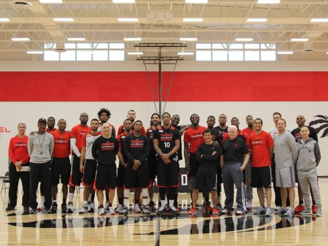 Basketball Equipment & Backstops for Toronto Raptors NBA Practice Facility