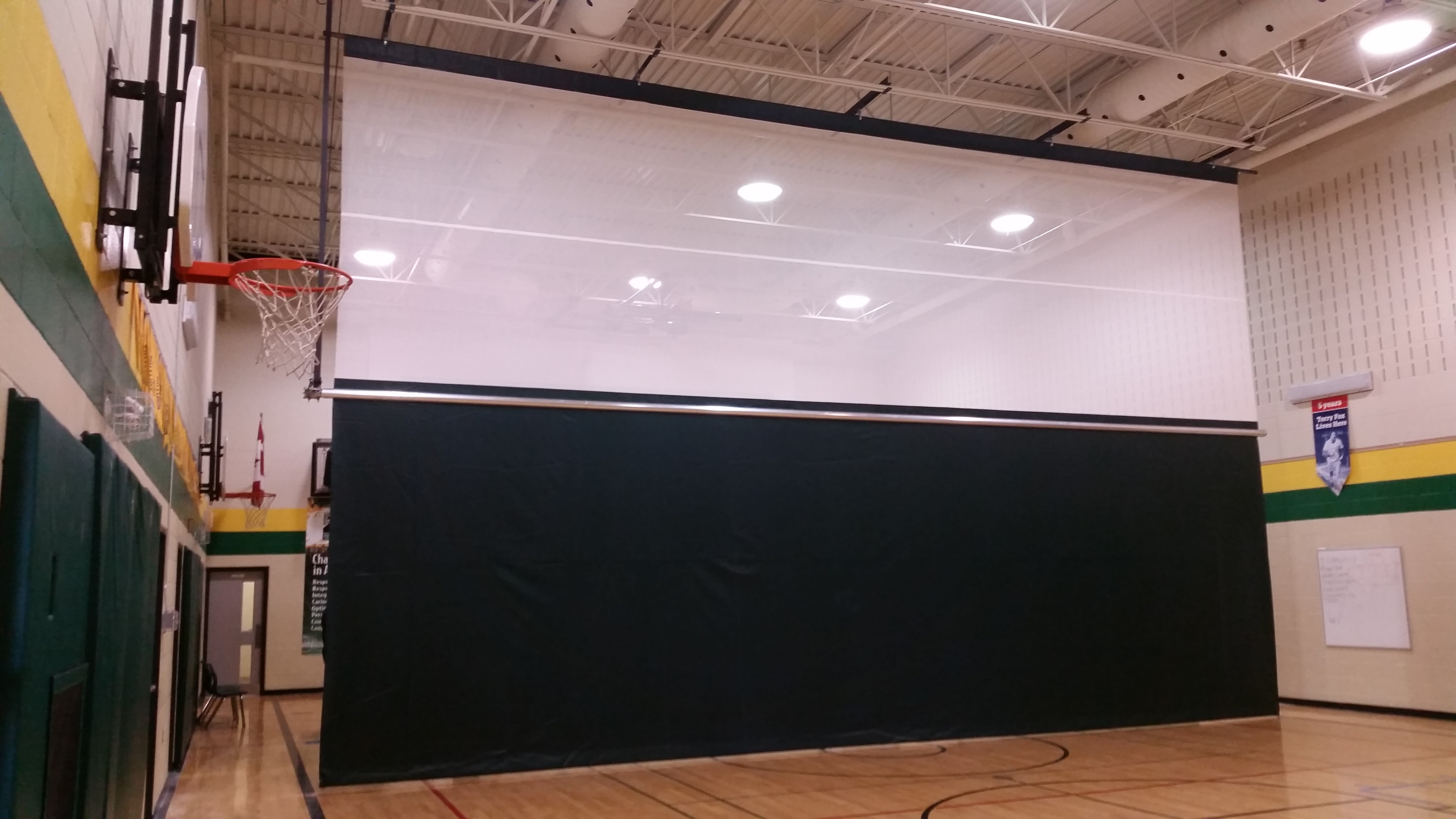 Centre Drive Gym Divider Curtains Forum Athletic