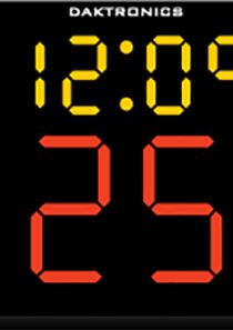 Daktronics BB-2115 Basketball Shot Clock