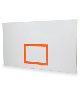 Wood Rectangular Shaped Backboard with Target