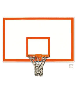Steel Rectangular Shaped Backboard with Border & Target