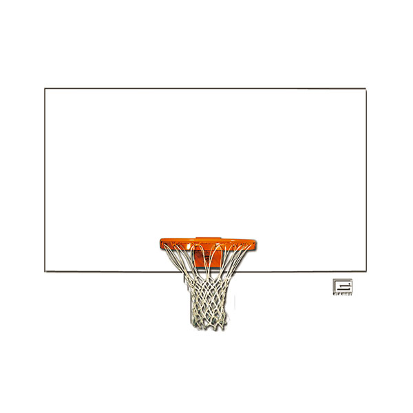 Steel Rectangular Shaped Backboard