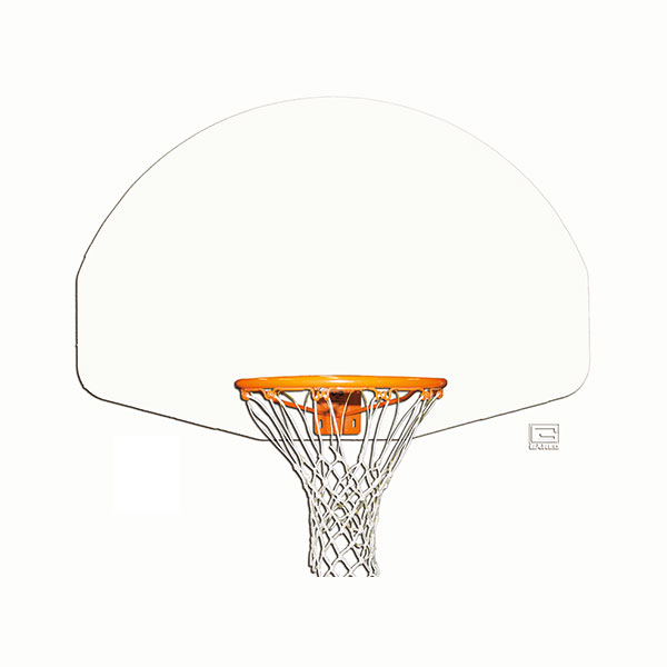 Aluminum Fan Shaped Backboard