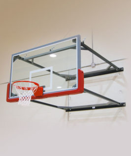 Indoor Wall-Mounted Basketball Hoops | Forum Athletic Products Inc.