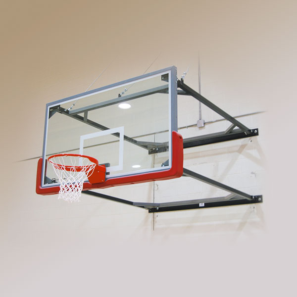 Wall Mount Swing-Up Backstop
