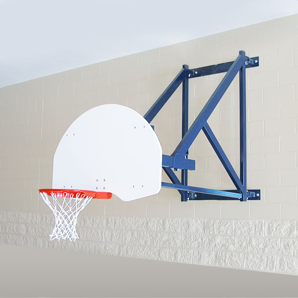 Wall Mount Side Fold Backstop