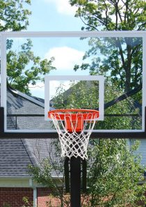 Collegiate Jam Adjustable Basketball System
