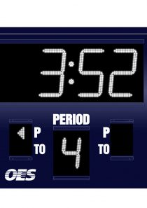 OES Model 5200 Basketball Scoreboard