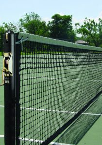Grand Slam 3″ Round Competition Tennis Posts, Black