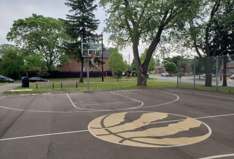 Falstaff Community Centre – Outdoor Courts – Toronto, ON.