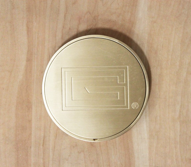 5″ Cover Plate Brass
