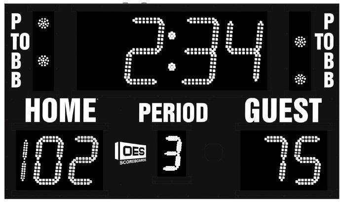 OES M5006A Scoreboard